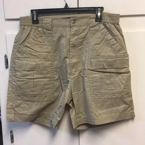 Box office khaki shorts